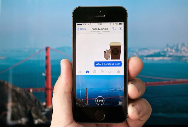 Facebook lanzará Slingshot