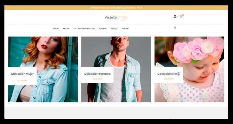 Diseño E-commerce Visteteonline